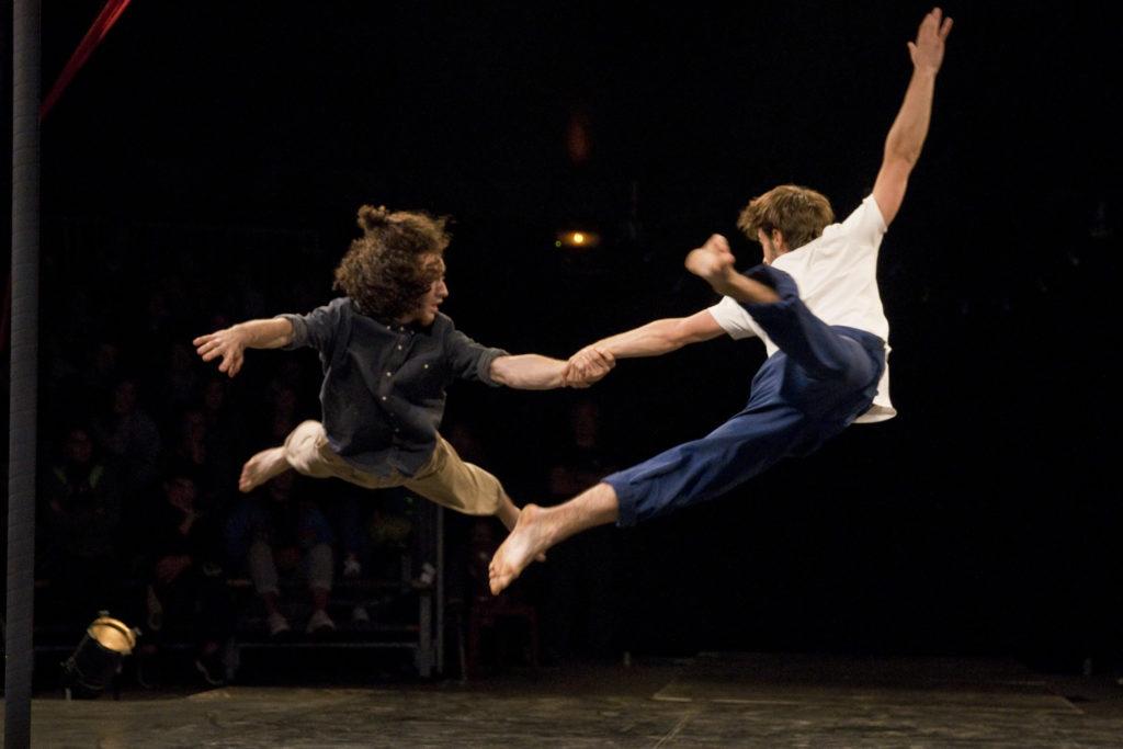 Duo acrobatie Rencontres Nationales CIRCa
