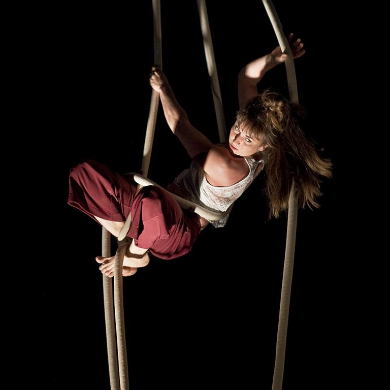 corde lisse arc en cirque