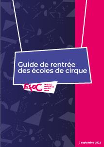 Guide de rentrée des écoles de cirque 2021